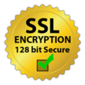 128 bit SSL Encryption