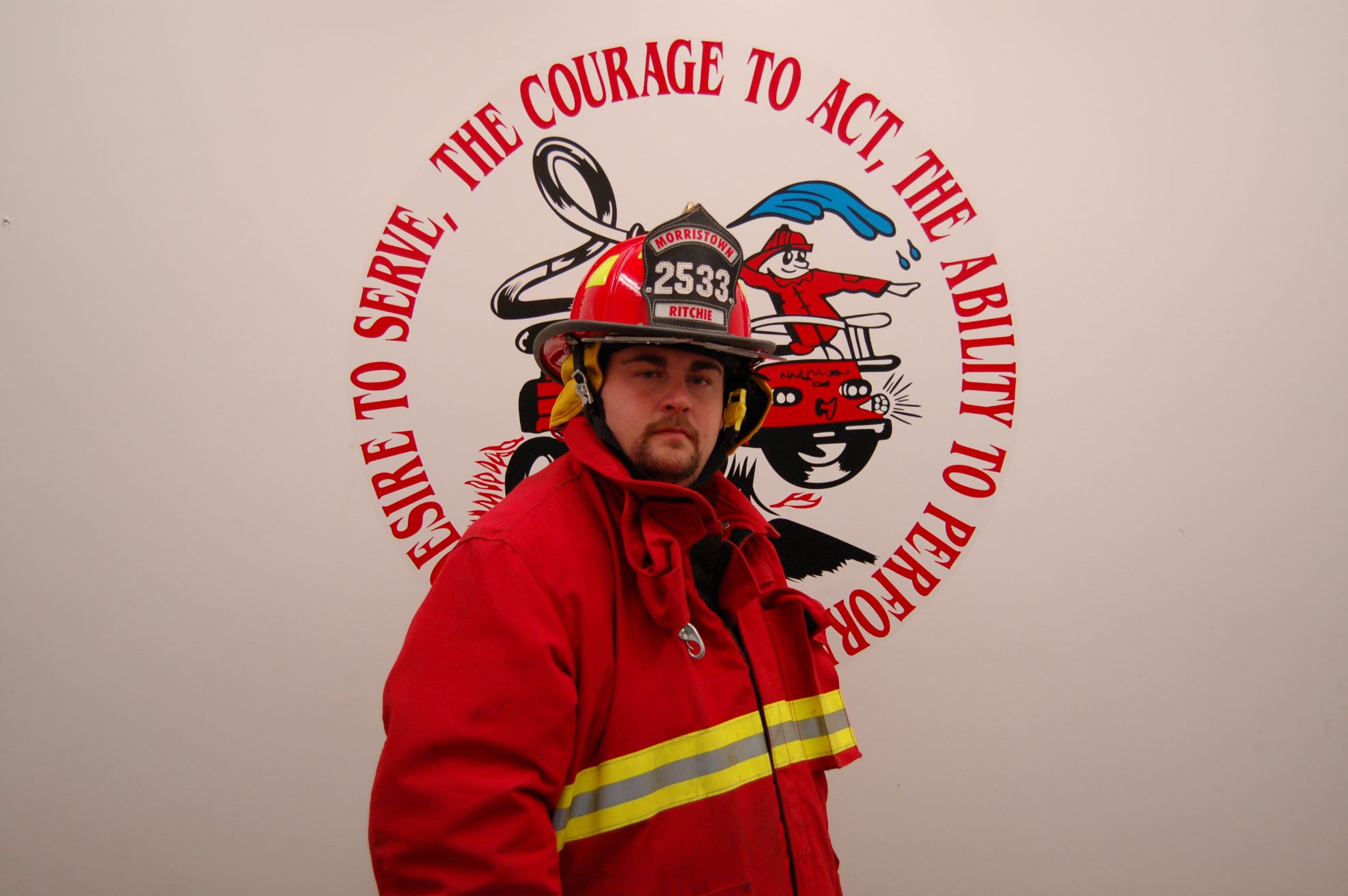 Fire Fighter Scott Ritchie