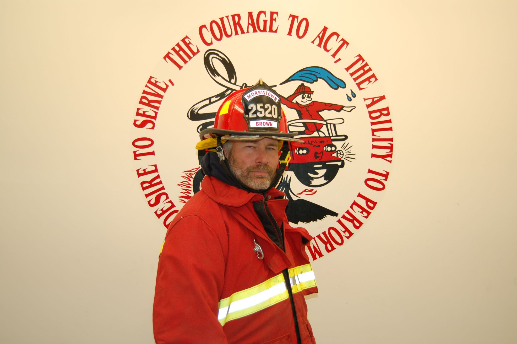 Fire Fighter David Brown