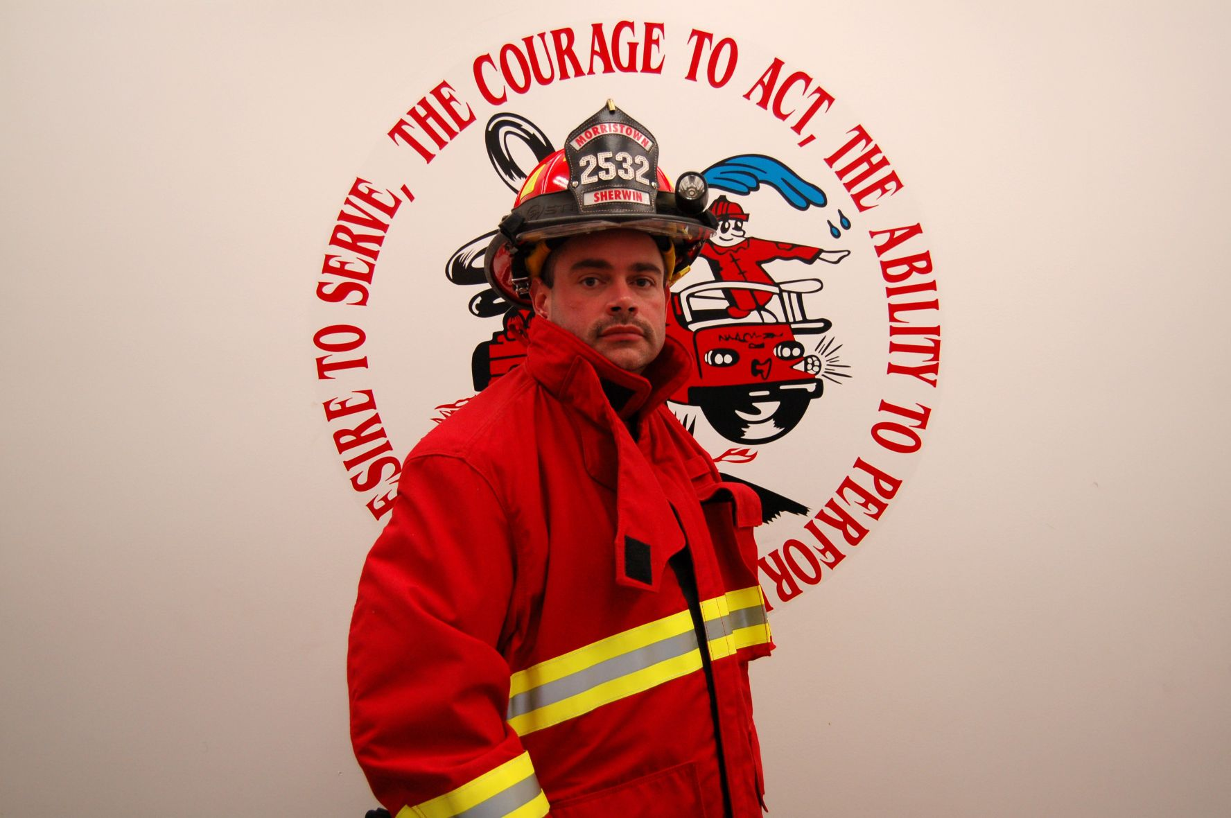 Fire Fighter Christopher Sherwin