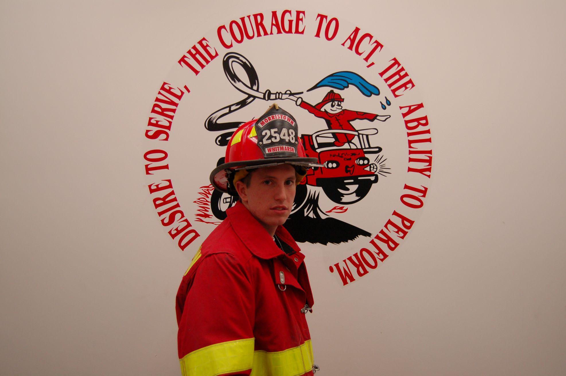 Fire Fighter Bill Whitmarsh