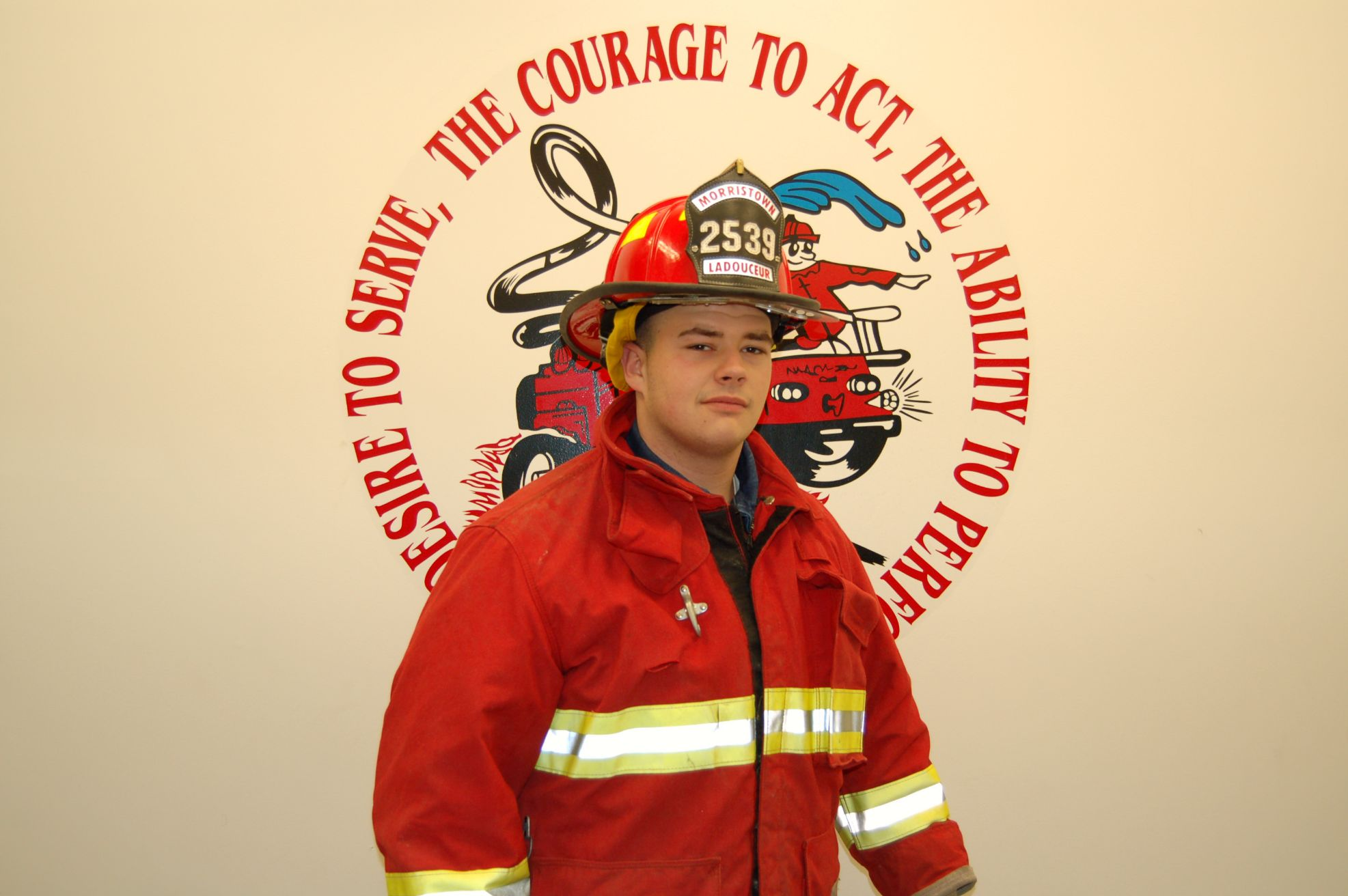 Fire Fighter Dan Ladouceur