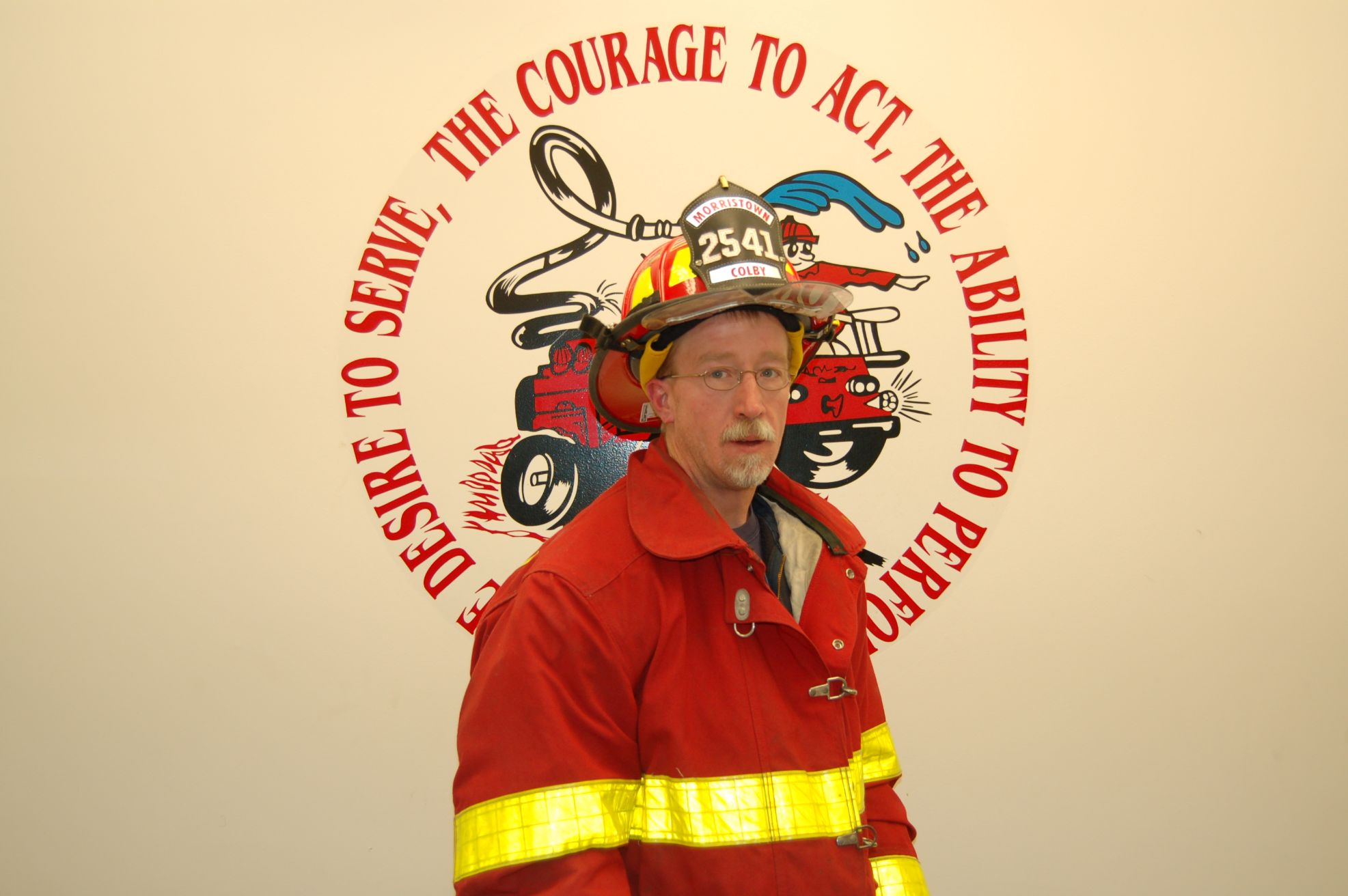 Fire Fighter Glen Colby