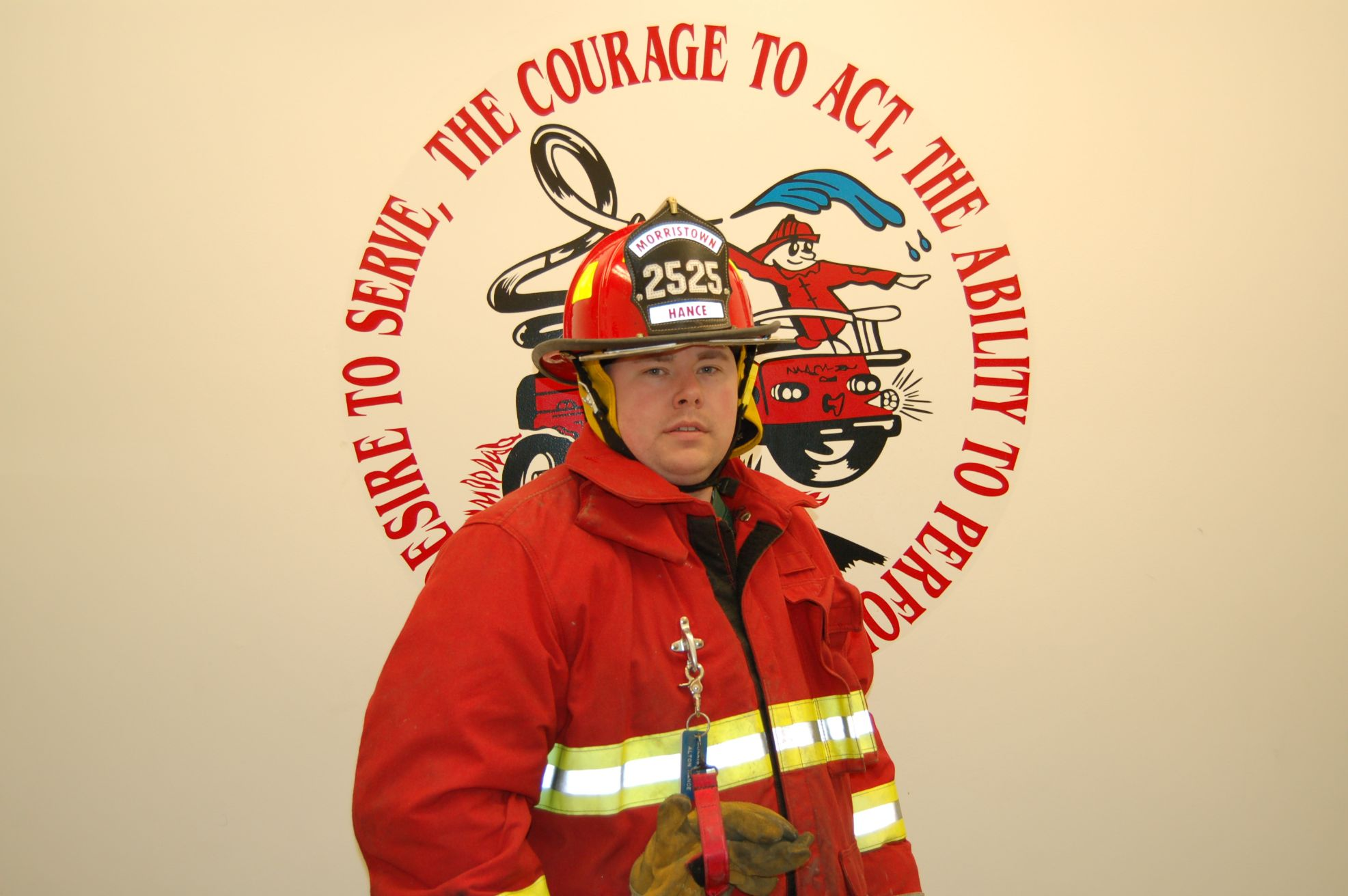 Fire Fighter Sonny Hance