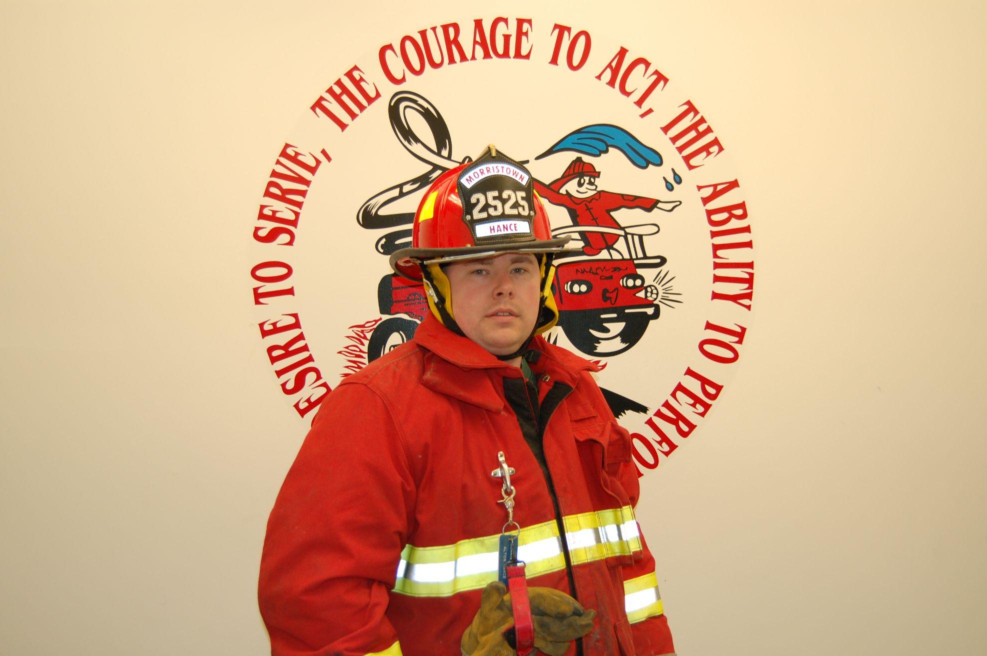 Fire Fighter Sonny Hance