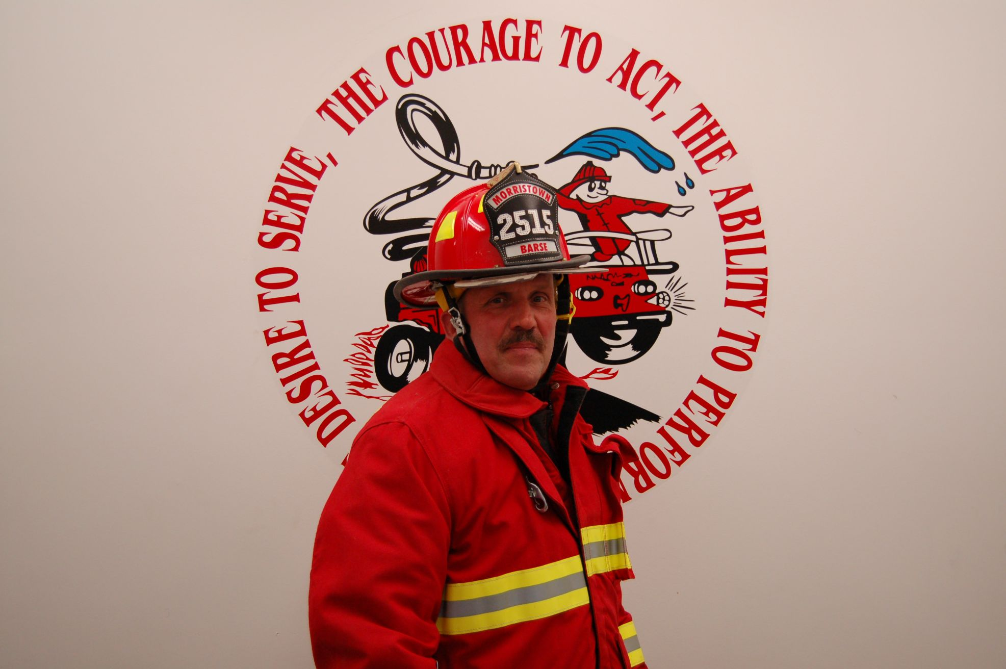 Fire Fighter Earl Barse