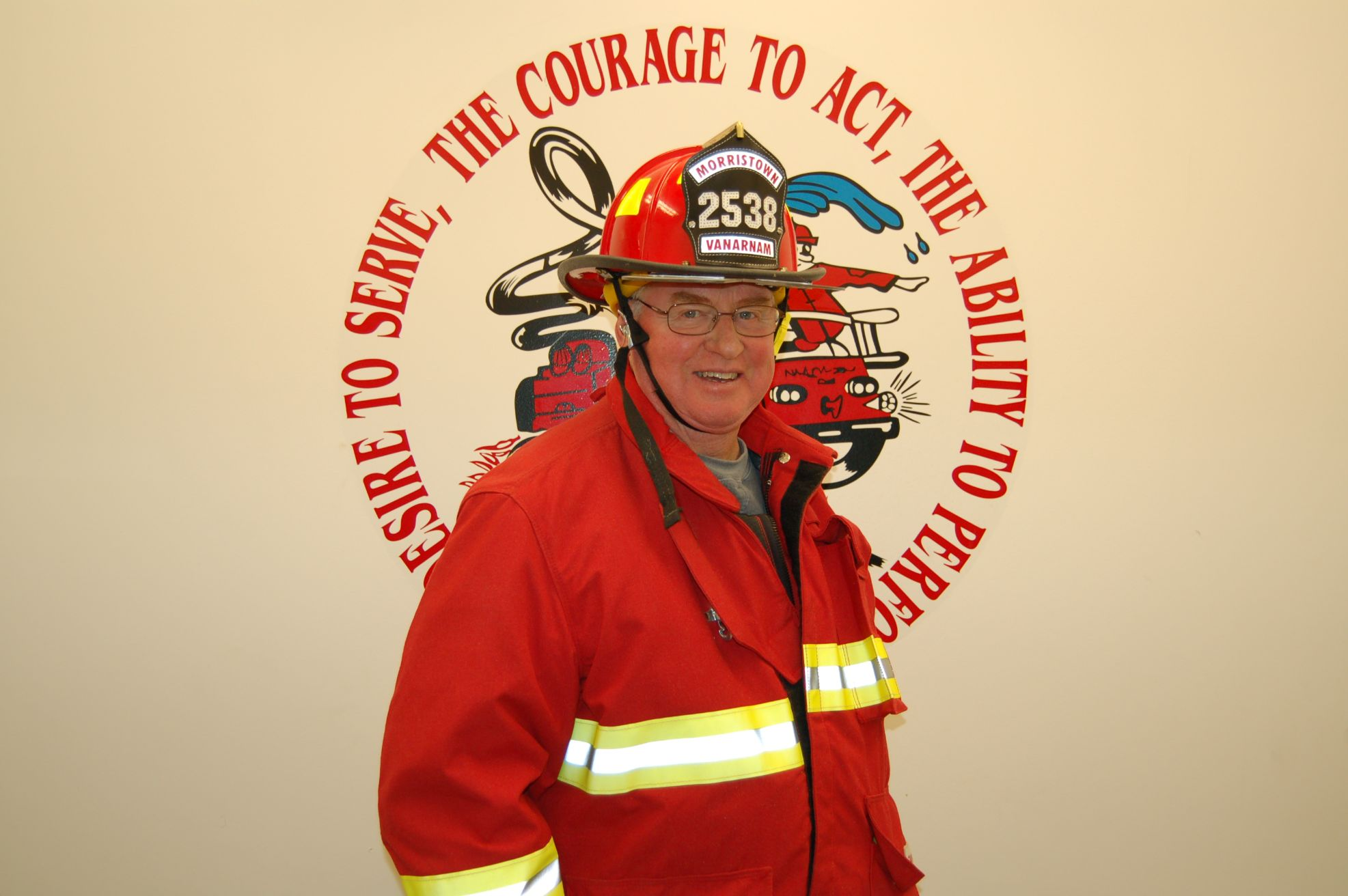 Fire Fighter Bruce VanArnam