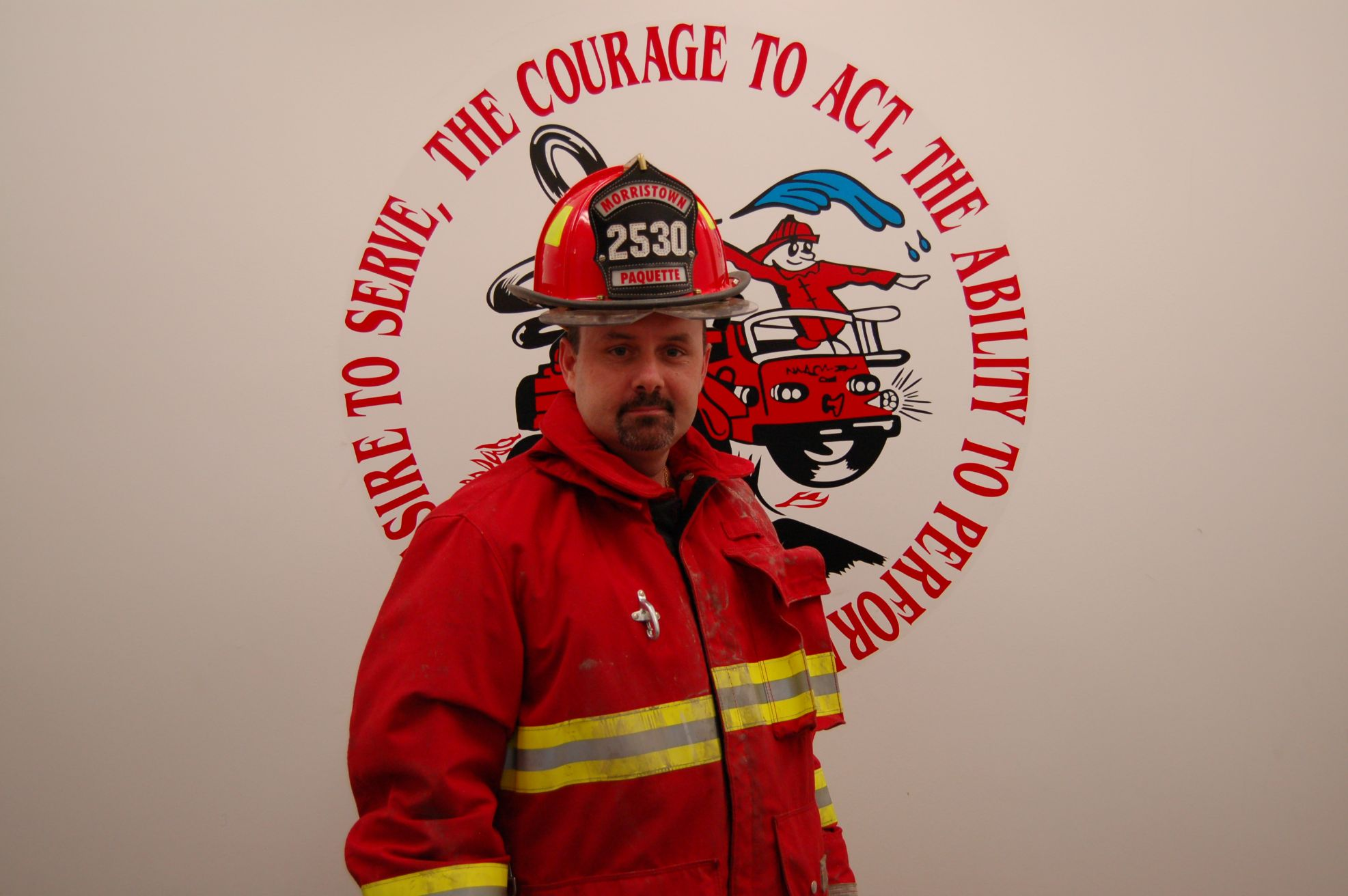 Fire Fighter Peter Paquette