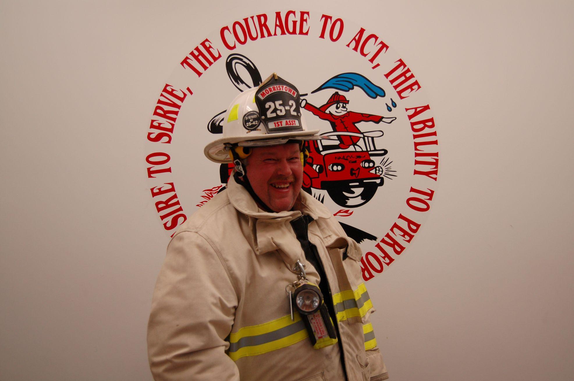 MVFD 1st Assistant Chief Ed Gagnon
