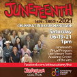 210619-3 JUNETEENTH 2021 - CELEBRATING OUR HERITAGE * Juneteenth Coalition