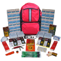 4-Person ''Grab-'N-Go'' Backpack Emergency Kit