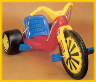 1978 Marx Original Big Wheel Tricycle Ride-On Toy