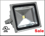 35W LED Marine Flood Light 120 Deg. 110/240VAC cULus Certified
