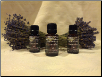 Lavender: Trio of Essential Oils-  Three 5ml bottles of 100% pure monastery oils