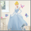 Princess Wall Decal - Disney Cinderella Princess
