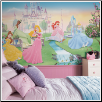 Wall Murals Decals 6' x 10.5' Disney Dancing Princess XL