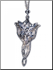 Silver Arwen Evenstar Pendant Necklace LOTR