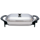 Precise Heat™ Rectangular Stainless Steel Electric Skillet