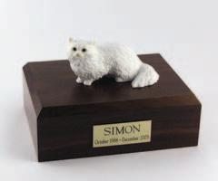 Angora White Cat Figurine