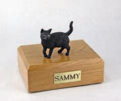 Black Cat Standing Figurine