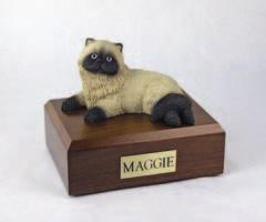 Himalayan Cat Laying Figurine