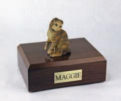 Scottish Fold Brown Tabby Figurine