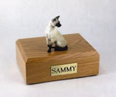 Siamese Sitting Cat Figurine