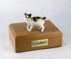 Tri Color Cat Figurine