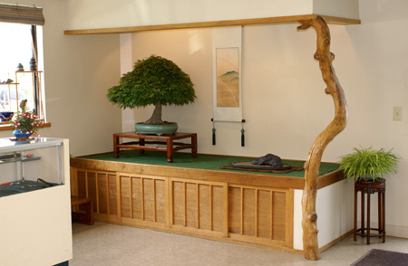 Summer display of Maple in studio alcove