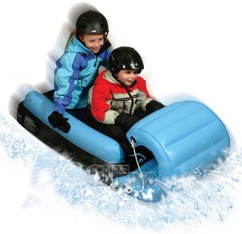 Inflatable Snow Tubes Sleds And Snow Forts