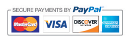 Fighters Focus accepts MasterCard, Visa, Discover and American Express with PayPal secure payments processing.