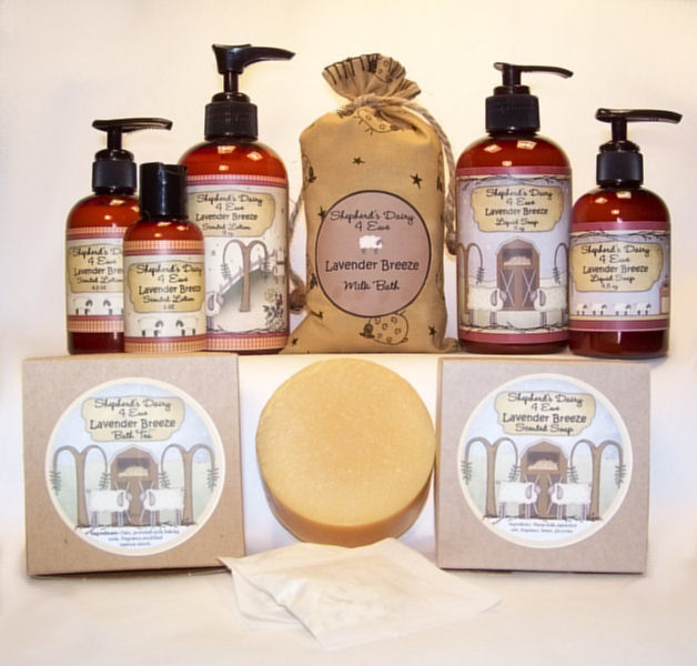 Sheep Milk Skin Care Products Primitive
