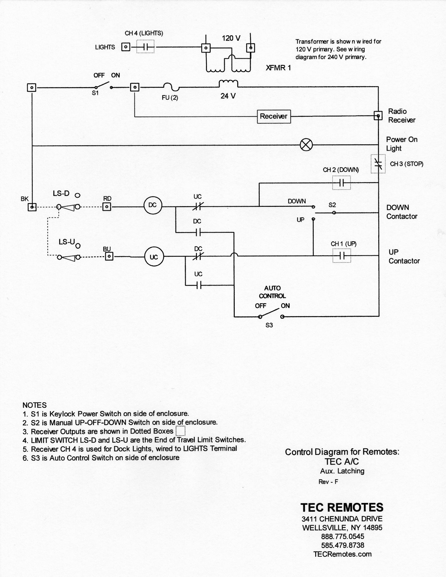 wiring installation rh tecremotes com Chain Hoist Wiring Diagram For Shaw-Box Hoist Wiring-Diagram