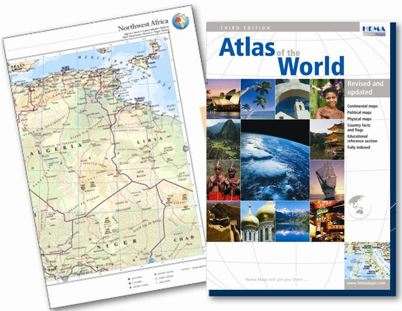 Hema 2007 World Atlas