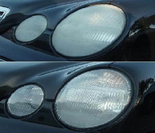 Mercedes Headlight Restoration