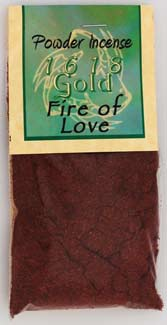 1618 Gold Powder Incense