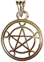 Wicca & Witches Pendants