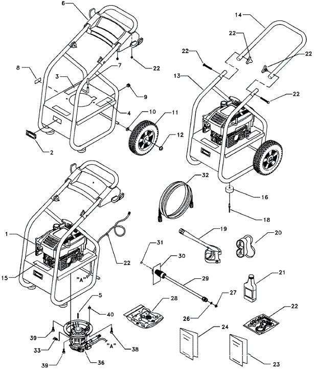 subaru engine parts on pressure washer  subaru  free engine image for user manual download