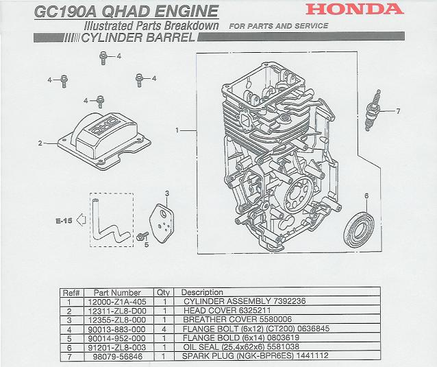 honda gc190 engine parts rh ppe pressure washer parts com Honda GC190 Engine Parts Diagram Honda GC190 Pressure Washer Parts