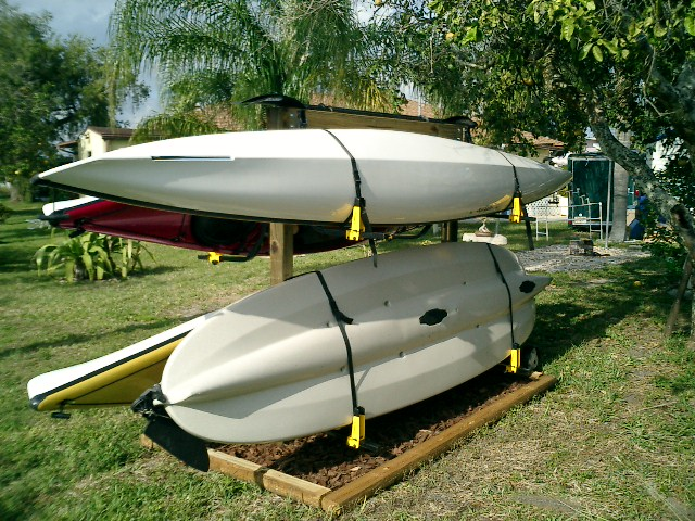 Outdoor Kayak Garden