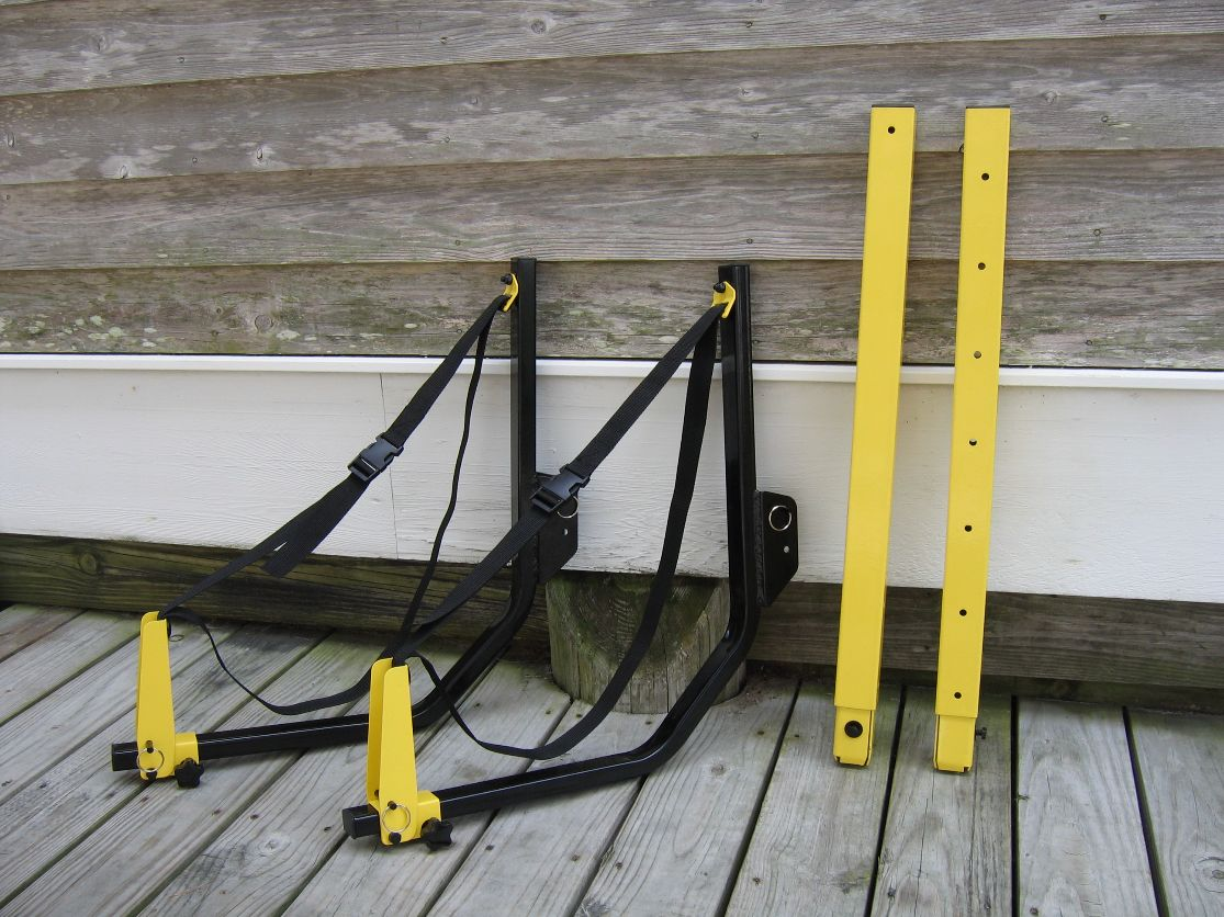 Posts & Suspension Bars for kayak storage racks