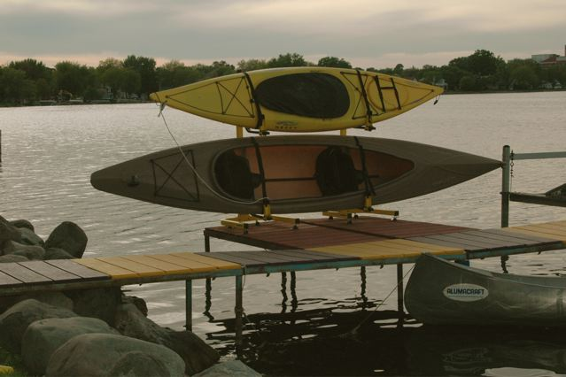 Outdoor Kayak Free Standing Rack
