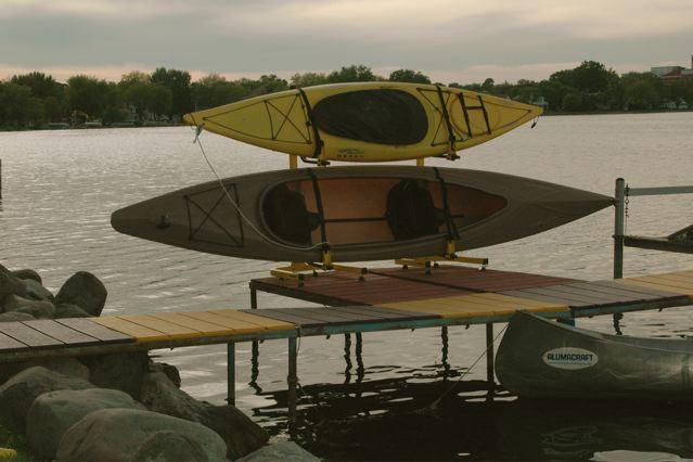 Outdoor Kayak Free Standing Rack