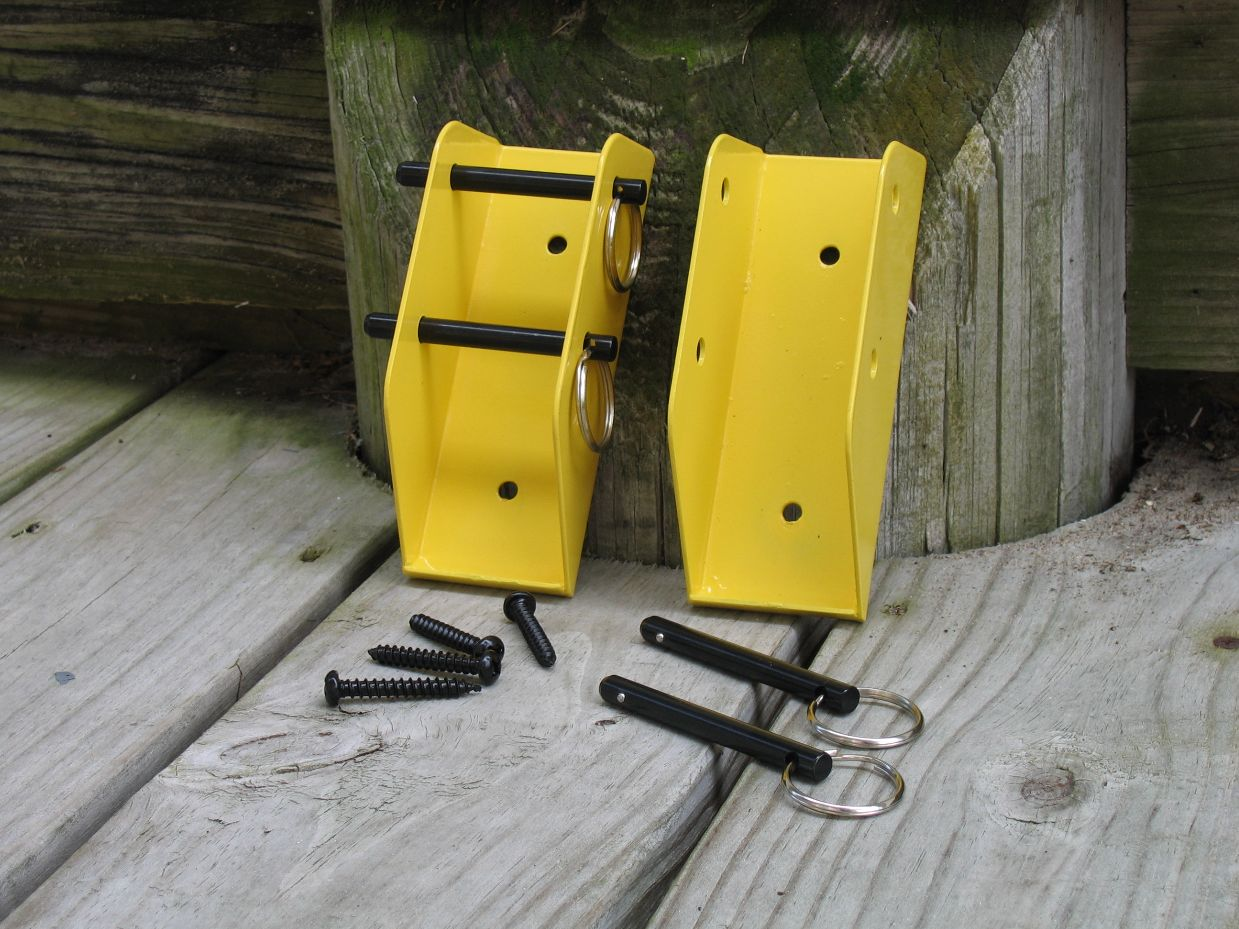 Wall Mount Brackets for Kayak storage racks