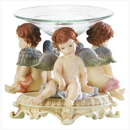 Oil Burners Angel Figurines