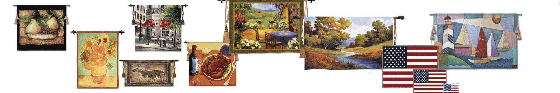Modern Fine Art Tapestries Wall Hangiings Custom Wall
