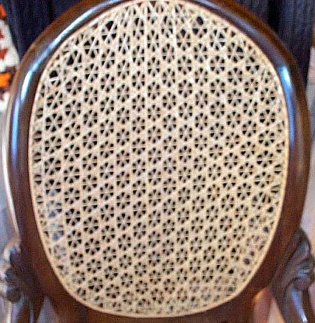 fancy chair caning patterns