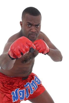 MMA Gloves - MMA fighter