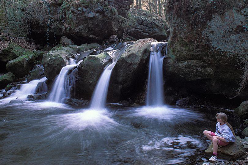 Luxembourg Waterfall
