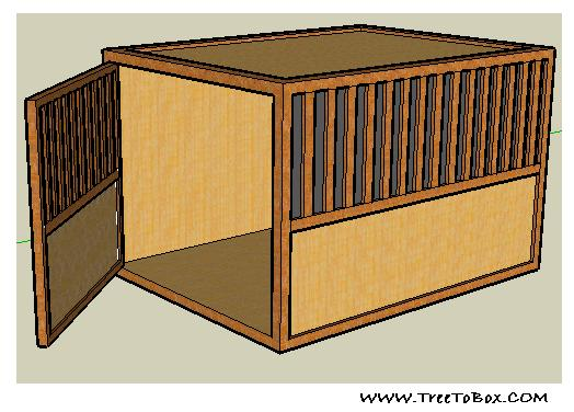 top quality premium affordable luxury dog crates that double as fine wood end table